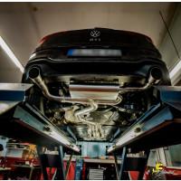 89mm MaxXPipe mit EG-Genehmigung VW Golf 8 GTI