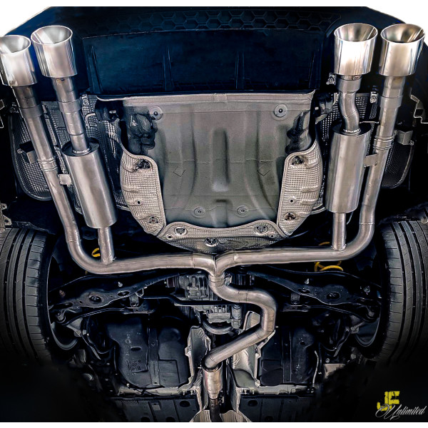 """3"""" / 76mm MaxXPipe Golf 7 R Variant  inkl Facelift"""