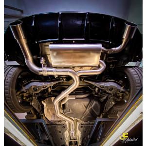 89mm MaxXPipe mit EG-Genehmigung VW Golf 7 GTI TCR
