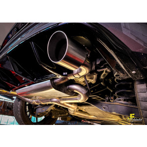 89mm MaxXPipe mit EG-Genehmigung VW Golf 7 GTI Clubsport