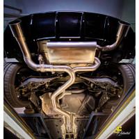 "3.5"" / 89mm MaxXPipe mit EG-Genehmigung VW Golf 7 GTI Clubsport"
