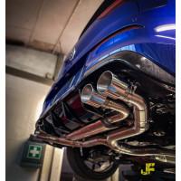 """3.5"""" / 89mm MaxXPipe mit EG-Genehmigung Golf 7 R Vorfacelift"""