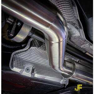 "3.5"" / 89mm MaxXPipe mit EG-Genehmigung Audi S3 8V Vorfacelift Sportback"