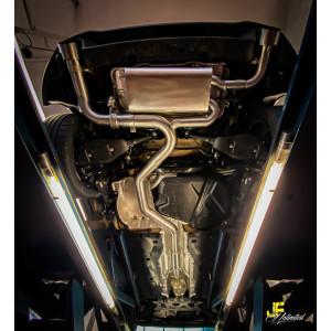 "3.5"" / 89mm MaxXPipe mit EG-Genehmigung Golf 8 GTI..."