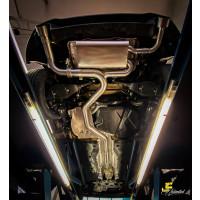 "3.5"" / 89mm MaxXPipe mit EG-Genehmigung Golf 8 GTI Clubsport"