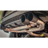 "3"" / 76mm MaxXPipe mit EG-Genehmigung Golf 7 R Facelift OPF"